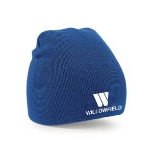 Willowfield Harriers Beanie Hat - Royal